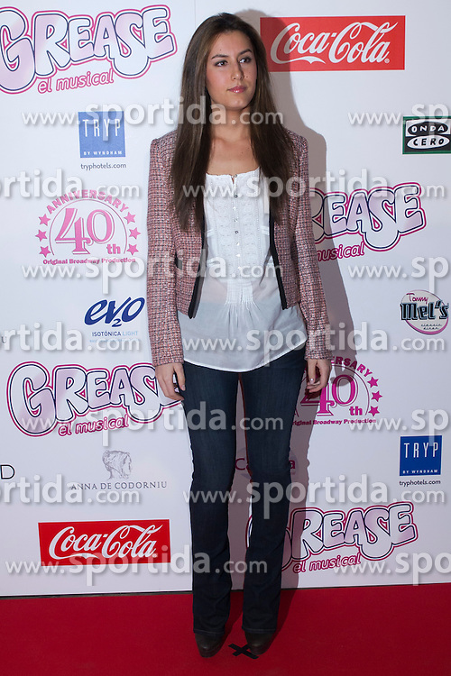 """27.03.2012, Theatre Artery Coliseum, Madrid, ESP, Fototermin Filmpremiere, Grease the musical, im Bild Ana Boyer // during photocall for the movie """"Grease, the musical"""" to present to Julio Iglesias Junior as new lead singer of the function at Theatre Artery Coliseum, Madrid, Spain on 2012/03/27. EXPA Pictures © 2012, PhotoCredit: EXPA/ Alterphotos/ Marta Gonzalez..***** ATTENTION - OUT OF ESP and SUI *****"""