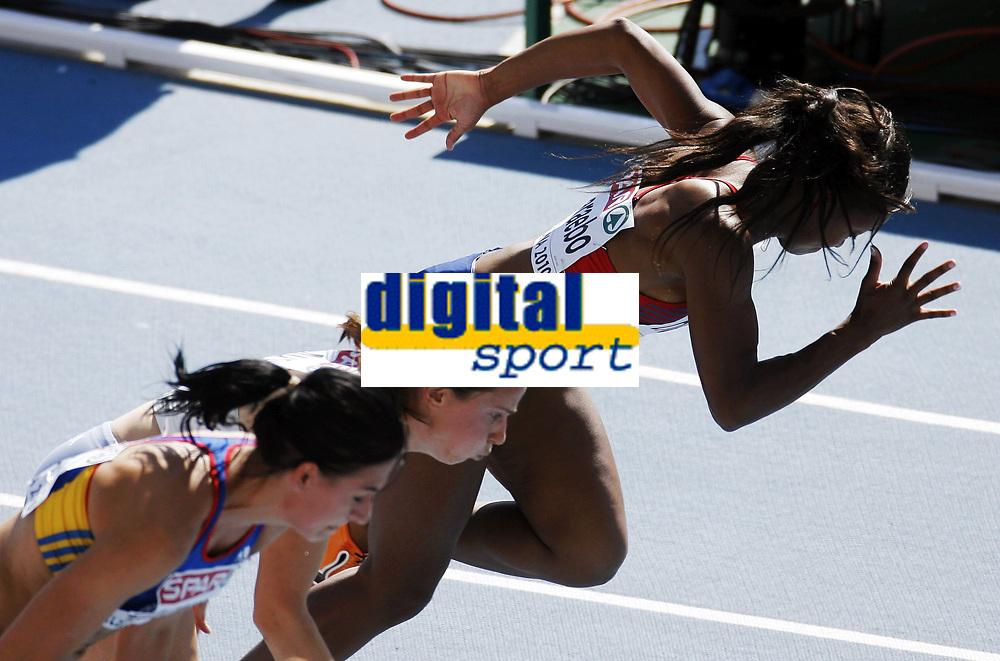 Friidrett, 28. juli  2010 ,<br /> EM Barcelona<br /> <br /> European Athletics Championships<br /> Barcelona<br /> <br /> Ezinne Okparaebo  , Norge p&aring; 100 m<br /> <br /> Foto: Anders Hoven , Digitalsport