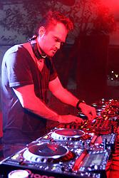 DJ Andre Sarate no palco E-planet do Planeta Atlântida 2013/RS, que acontece nos dias 15 e 16 de fevereiro na SABA, em Atlântida. FOTO: Marcos Nagelstein/Preview.com
