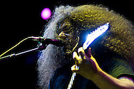 Coheed & Cambria performs during the Sungod Festival at UC San Diego in San Diego, California on May 16, 2008.