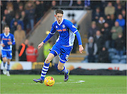 Joe Bunney during the Sky Bet League 1 match between Rochdale and Millwall at Spotland, Rochdale, England on 13 February 2016. Photo by Daniel Youngs.