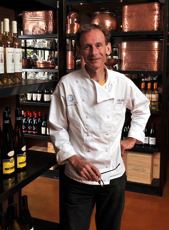Bruce Auden of Auden's Kitchen and Biga on the Banks restaurants in San Antonio, Texas.