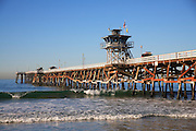 Lifeguard Tower on San Clemente Pier