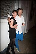 SHERA BATHURST; HENRY BRUDENELL BRUCE, Matt's Gallery 35th birthday fundraising supper.  42-44 Copperfield Road, London E3 4RR. 12 June 2014.