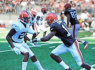 Cleveland Browns, Orange & Brown Scrimmage Game, Ohio Staium,in Columbus Ohio<br /> <br /> August 7th 2015, 6:00pm