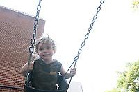 Dante on the swings