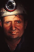a coal miner in West Virginia, USA
