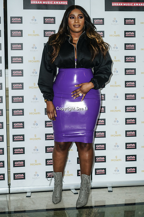 London, England, UK. 30th November 2017. Steflon Don attends the Urban Music Awards at Porchester Hall, London, UK.