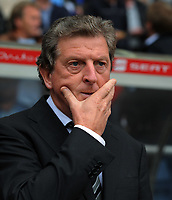 Roy Hodgson Manager<br /> Fulham 2009/10<br /> Aston Villa V Fulham 30/08/09<br /> The Premier League<br /> Photo Robin Parker Fotosports International