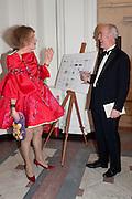 GRAYSON PERRY; CHARLES SAUMERAZ SMITH, Royal Academy Schools Annual dinner and Auction 2012. Royal Academy. Burlington Gdns. London. 20 March 2012.