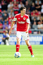 Bristol City's Brendan Moloney   - Photo mandatory by-line: Dougie Allward/JMP - Tel: Mobile: 07966 386802 11/08/2013 - SPORT - FOOTBALL - Sixfields Stadium - Sixfields Stadium -  Coventry V Bristol City - Sky Bet League One