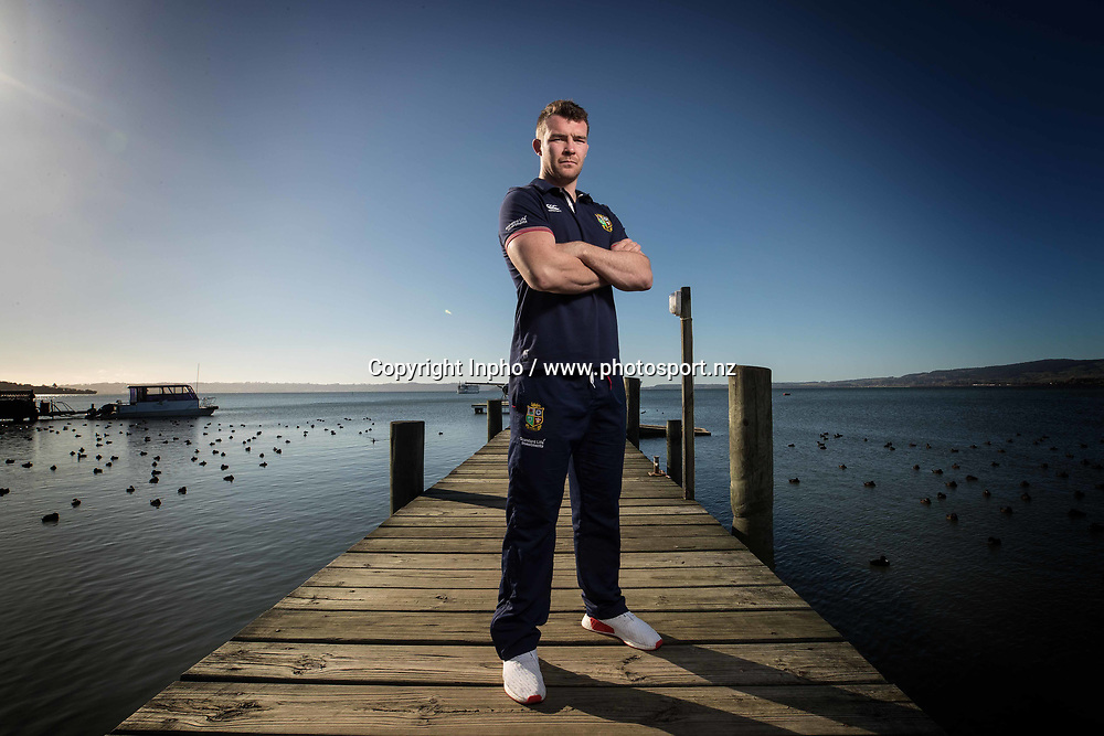 2017 British &amp; Irish Lions Tour To New Zealand, Novotel Rotorua British &amp; Irish Lions<br />Press Conference 15/6/2017<br />British and Irish Lions captain for the match against the Maori Peter O'Mahony during the press conference<br />Mandatory Credit &copy;INPHO/Billy Stickland / www.photosport.nz