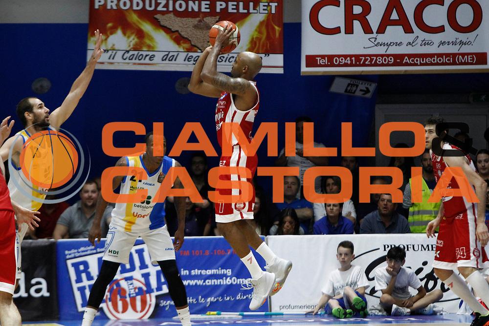Hickman<br />Betaland Capo D'Orlando Vs EA7 Emporio Armani Olimpia Milano<br />Playoff Gara 4<br />LegaBasket 2016/2017<br />Capo d&rsquo;Orlando 18/05/2017<br />Foto Ciamillo-Castoria