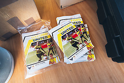 Matchday programs - Rogan Thomson/JMP - 06/11/2016 - FOOTBALL - The Northcourt Stadium - Abingdon-on-Thames, England - Oxford United Women v Bristol City Women - FA Women's Super League 2.