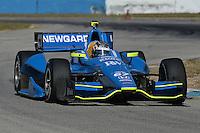 Josef Newgarden, Sebring test, 2/19/2013