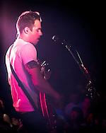 Tim Lopez singer and guitarist for the Plain White T's, in concert in Yokosuka Japan