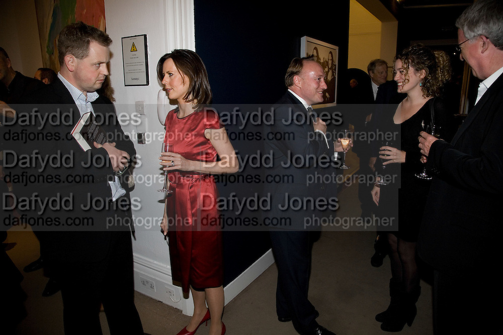 MATTHEW D'ANCONA; SUSAN ROBERTS; ANDREW ROBERTS; PETER STODHARD; ANNA STODHARD, Master and Commanders by Andrew Roberts book launch. Sotheby's Bond Street . London. 13 October 2008 *** Local Caption *** -DO NOT ARCHIVE -Copyright Photograph by Dafydd Jones. 248 Clapham Rd. London SW9 0PZ. Tel 0207 820 0771. www.dafjones.com
