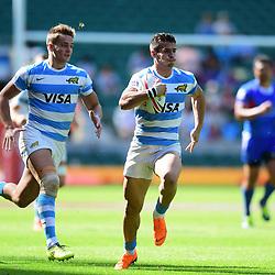 Rodrigo Etchart of Argentina makes a break