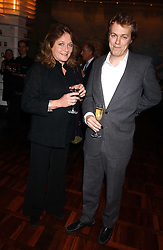 LEONORA, COUNTESS OF LICHFIELD and TOM PARKER BOWLES at a party to celebrate the publication of 'E is for Eating' by Tom Parker Bowles held at Kensington Place, 201 Kensington Church Street, London W8 on 3rd November 2004.<br /><br />NON EXCLUSIVE - WORLD RIGHTS