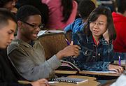 Houston ISD EMERGE students visit Brown University, June 5, 2014.