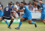 Ofa Tu'ungafasi during a pre season Super Rugby match. Blues v Storm, Pakuranga Rugby Club, Auckland, New Zealand. Thursday 4 February 2016. Copyright Photo: Andrew Cornaga / www.Photosport.nz