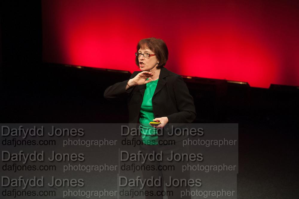 PAM WARHURST; , UnSeen Narratives, Ted Salon, Unicorn Theatre, Tooley St. London. 10 May 2012.