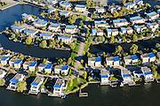 Nederland, Flevoland, Lelystad, 24-10-2013; eengezinswoningen en stadsvilla's in Lelystad-Haven, aan 't Bovenwater.<br /> Family houses and town villas in Lelystad-Haven.<br /> luchtfoto (toeslag op standaard tarieven);<br /> aerial photo (additional fee required);<br /> copyright foto/photo Siebe Swart.