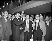 Dart Team (Rochdale) arrive at Dublin Airport.23/10/1959