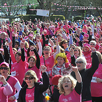 Free Pic / No Reproduction Fee<br /> Over 750 participants took part in the first Kinsale Pink Ribbon Walk on Sunday 4th March, raising a staggering &euro;80,000 for Action Breast Cancer, a programme of the Irish Cancer Society. <br /> Pic. John Allen