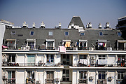 HANGZHOU, CHINA - MARCH 21: (CHINA OUT) <br /> <br /> Replica Of Paris In China<br /> <br />  A general view of Tianducheng residential community, also known as a knockoff of Paris, on March 21, 2014 in Hangzhou, Zhejiang Province of China. Tianducheng is developed by Zhejiang Guangsha Co. Ltd.. The construction began in 2007 with a replica of the Eiffel Tower and Parisian houses, and it is expected to be completed by 2015.   <br /> ©Exclusivepix
