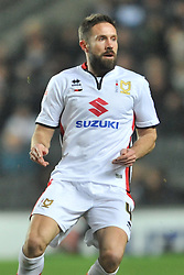 MATTHEW UPSON MK DONS,   MK Dons v Northampton Town, FA Cup Emirates FA Cup Third round Repay, Stadium MK, Tuesday 19th January 2016