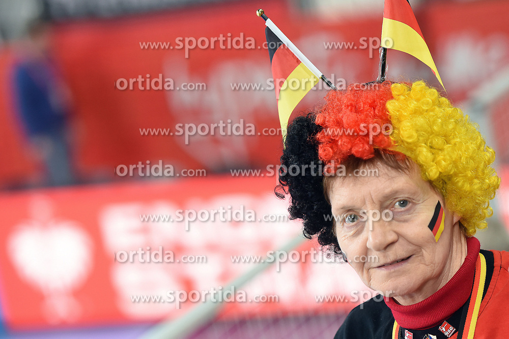 19.01.2018, Varazdin Arena, Varazdin, CRO, EHF EM, Herren, Deutschland vs Tschechien, Hauptrunde, Gruppe 2, im Bild German Fans // during the main round, group 2 match of the EHF men's Handball European Championship between Germany and Czech Republic at the Varazdin Arena in Varazdin, Croatia on 2018/01/19. EXPA Pictures © 2018, PhotoCredit: EXPA/ Pixsell/ Vjeran Zganec Rogulja<br /> <br /> *****ATTENTION - for AUT, SLO, SUI, SWE, ITA, FRA only*****