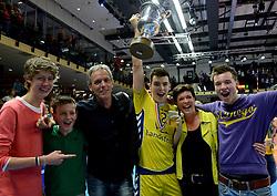 30-03-2013 VOLLEYBAL: LANDSTEDE VOLLEYBAL - ABIANT LYCURGUS: ZWOLLE<br /> 5de Play-off finale best of 5 - Landstede kampioen 2012-2013 met Stijn Held<br /> &copy;2013-FotoHoogendoorn.nl