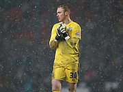 Blackburn Rovers goalkeeper, Jason Steele (30) during the Sky Bet Championship match between Blackburn Rovers and Brighton and Hove Albion at Ewood Park, Blackburn, England on 16 January 2016.