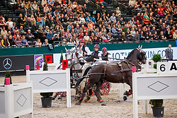 Weber Chester, USA, Indian, Maestoso 51, Maestoso Jupiter, Platon <br /> FEI World Cup Driving - First Round<br /> Leipzig - Partner Pferd 2018<br /> © Hippo Foto - Stefan Lafrentz