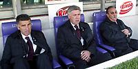 Firenze 20-11-2005<br /> Campionato  Serie A Tim 2005-2006<br /> Fiorentina Milan<br /> nella  foto Ancelotti<br /> Foto Snapshot / Graffiti
