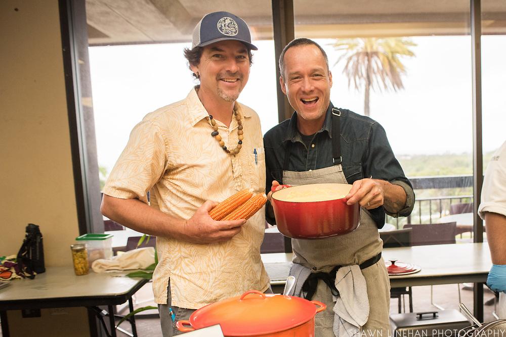 FLINT CORN<br /> Curator: Jay Bost, GoFarm Hawai'i<br /> Chef: Ed Kenney and Dave Caldiero, Town