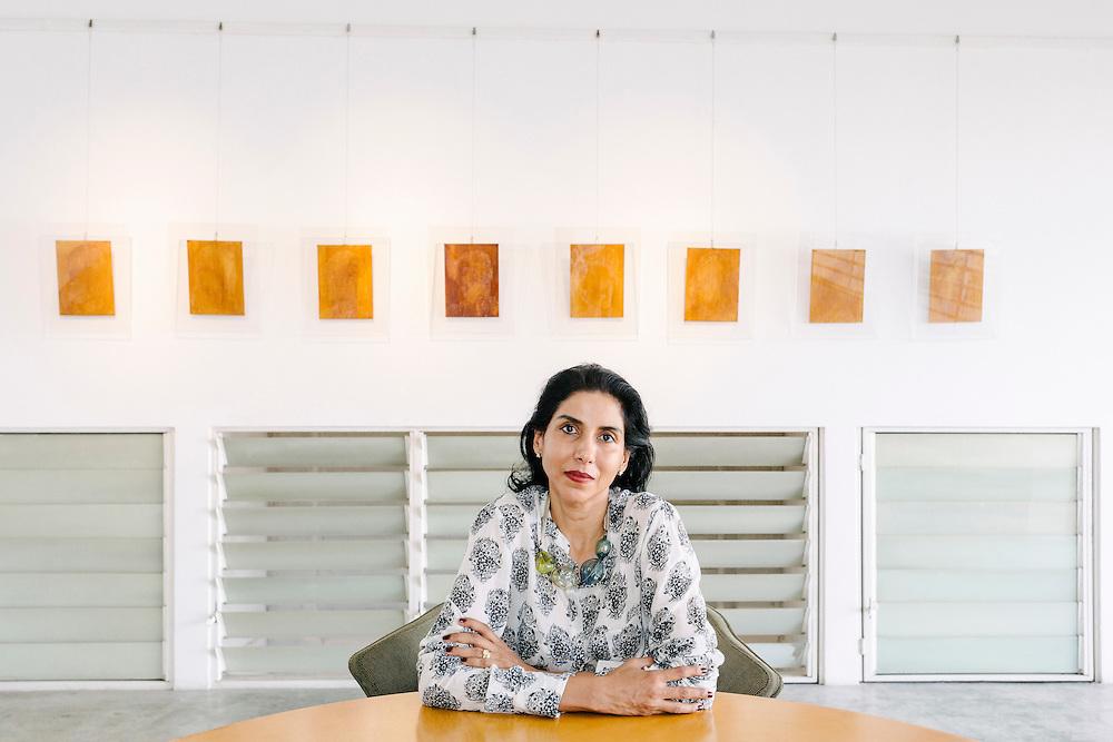 Founder, Shalini Ganendra, of Shalini Ganendra Fine Art Gallery.