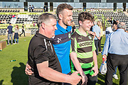 Forest Green Rovers Christian Doidge(9) poses for photos during the EFL Sky Bet League 2 match between Forest Green Rovers and Grimsby Town FC at the New Lawn, Forest Green, United Kingdom on 5 May 2018. Picture by Shane Healey.