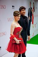 AMSTERDAM - In Tuschinski is de Nederlandse film Valention in premiere gegaan. Diversen bekende Nederlanders kwamen over de rode loper. Met hier op de foto  regisseur Remy van Heugten en zijn partner actrice Lilja Björk Hermannsdóttir. FOTO LEVIN DEN BOER - PERSFOTO.NU