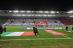 """March 23, 2019 - Udine, Italia - Foto LaPresse/Andrea Bressanutti.23/03/2019 Udine (Italia).Sport Calcio.Italia vs. Finlandia - European Qualifiers - Stadio """"Dacia Arena"""".Nella foto: fans..Photo LaPresse/Andrea Bressanutti.March  23, 2019 Udine (Italy).Sport Soccer.Italy vs Finland - European Qualifiers  - """"Dacia Arena"""" Stadium .In the pic: fans (Credit Image: © Andrea Bressanutti/Lapresse via ZUMA Press)"""