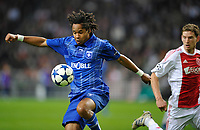 FOOTBALL - CHAMPIONS LEAGUE 2010/2011 - GROUP STAGE - GROUP G - AJAX AMSTERDAM v AJ AUXERRE - 19/10/2010 - PHOTO GUY JEFFROY / DPPI - ROY CONTOUT (AUX)