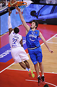 DESCRIZIONE : Biella Beko All Star Game 2012-13<br /> GIOCATORE : Daniele Magro<br /> CATEGORIA : Stoppata Difesa<br /> SQUADRA : Italia Nazionale Maschile<br /> EVENTO : All Star Game 2012-13<br /> GARA : Italia All Star Team<br /> DATA : 16/12/2012 <br /> SPORT : Pallacanestro<br /> AUTORE : Agenzia Ciamillo-Castoria/A.Giberti<br /> Galleria : FIP Nazionali 2012<br /> Fotonotizia : Biella Beko All Star Game 2012-13<br /> Predefinita :