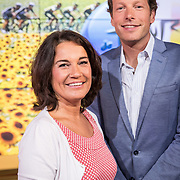NLD/Hilversum/20170622 - Perspresentatie NOS Tour de France, Dione de Graaf en Herman van der Zandt