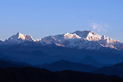Kanchenjunga from the  Singalila Ridge, India/Nepal Border