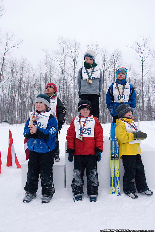 Noquemanon Ski Marathon, Ishpeming to Marquette, Michigan