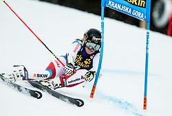"Lara Gut (SUI) competes during 1st Run of the FIS Alpine Ski World Cup 2017/18 5th Ladies' Giant Slalom race named ""Golden Fox 2018"", on January 6, 2018 in Podkoren, Kranjska Gora, Slovenia. Photo by Ziga Zupan / Sportida"