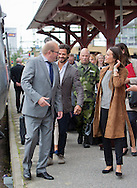 Karlstad, 26-08-2015<br /> <br /> Prince Carl Philip and Princess Sofia&rsquo;s official visit to Varmland<br /> <br /> Arrival Railway Station Karlstad<br /> <br /> <br /> Photo:Royalportraits Europe/Bernard Ruebsamen