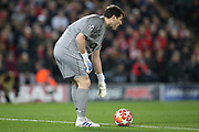 FC Porto goalkeeper Iker Casillas (1) during the Champions League Quarter-Final Leg 1 of 2 match between Liverpool and FC Porto at Anfield, Liverpool, England on 9 April 2019.