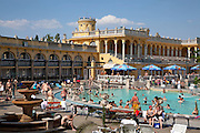 Budapest. Szechenyis thermal springs were discovered in 1879. The neo-baroque buildings were built in 1913.